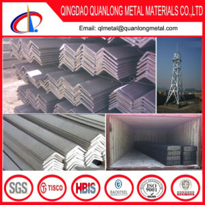 ASTM A36 S235jr Q235 Q345 Galvanized Angle Iron Prices pictures & photos
