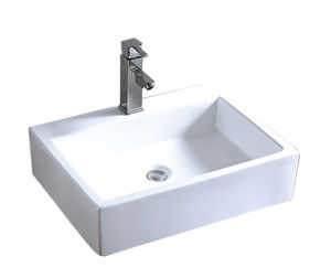 Above Counter Easy Cleaning Art Basin CE-5185 pictures & photos