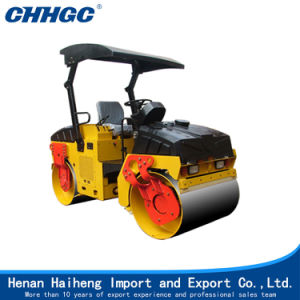 Small Articulated Twin Drum Mini Vibratory Roller for Sale pictures & photos