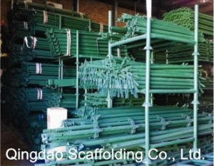 Painted and Galvanized Kwikstage Scaffolding Standard pictures & photos