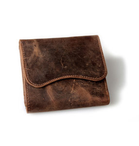 Cheap Price Good Quality Crazy Horse Leather Credit Card Wallet pictures & photos