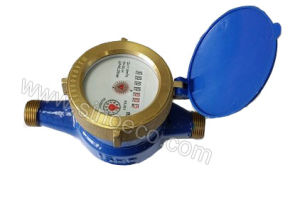 Brass Multi Jet Dry Dial Vane Wheel Water Meter pictures & photos