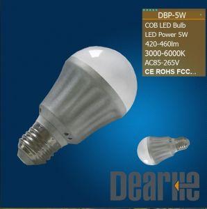 2012 E27 5W COB LED Bulb