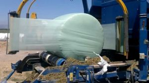 Blown Celadon Green Color Silage Wrap Film pictures & photos