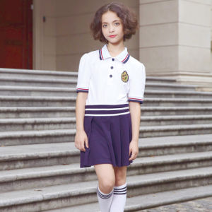 High Quality Summer Cheap School Uniform Polo Shirt pictures & photos