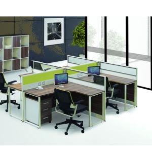 Premium Aluminum Alloy Frame Staff Desk (PS-P80-four person) pictures & photos