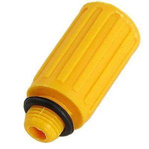 "Air Compressor Spare Parts Plastic Oil Plug 1/2"" Thread Yellow pictures & photos"