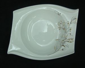 New Bone China Soup Plate pictures & photos