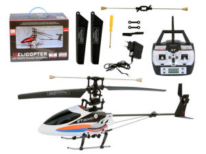 RC Toys: 4 Channels Metal RC Helicopter (9016)