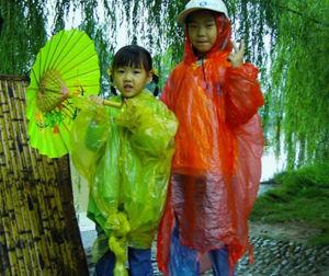 40*60inch Children Raincoat Rain Poncho