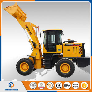 Chinese 2 Ton Mini Front Wheel Loader, Mini Payloader pictures & photos