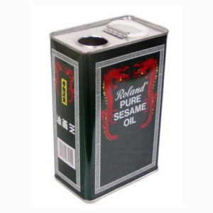 3 Liters Edible Oil Tin Container pictures & photos