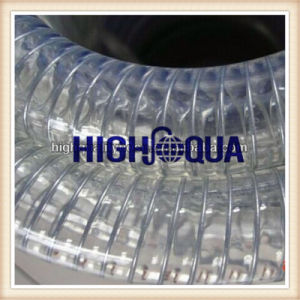 No Smell PVC Stainless Steel Hose Steel Wire Pipe, Spiral PVC Pipe, Steel Wire PVC Pipe pictures & photos