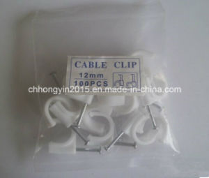 Electric Cable Clip Round Cable Cllip C Shape Cable Clip pictures & photos