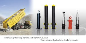 Telescopic Cylinder for Self Dump Truck pictures & photos