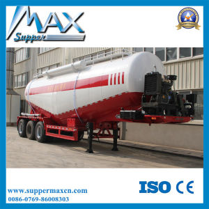 Tri-Axle Bulk Cement Truck Powder Tank Semi Trailer pictures & photos