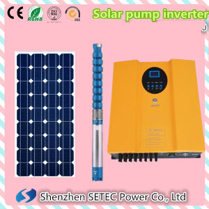 High Efficiency Inverter with MPPT LCD to Drive AC Pump pictures & photos