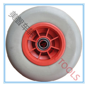 Low Resistance Smooth PU Foam Wheel Puncture Proof Solid Tyre pictures & photos