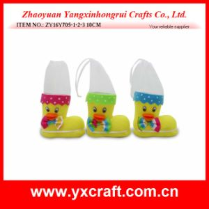 Easter Decoration (ZY16Y705-1-2-3) Spring Easter Chick Decoration Easter Chick Boot pictures & photos