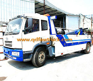 50tons Faw New Condition Heavy Wrecker Truck pictures & photos