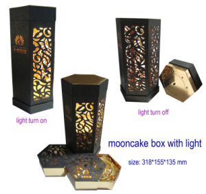 Cardboard Moon Cake Box, Paper Wine Box pictures & photos