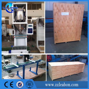 2017 Hot Selling Sewing Heat Sealer 5-50 Kg Per Bag Feed Wood Pellet Packing Machine pictures & photos