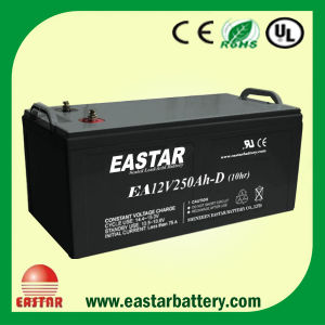 Deep Cycle Solar 12V 250ah AGM Battery pictures & photos