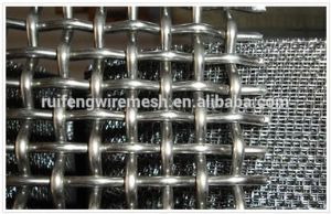 AISI 304 Polished Stainless Steel- Woven Wire Net pictures & photos