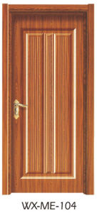 Low Price Excellent Quality Hotsale Melamine Door (WX-ME-104) pictures & photos