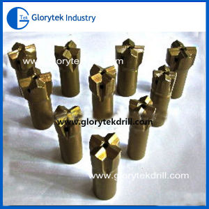 Made in China R25/T38/T45thread Cross Carbide Bit pictures & photos