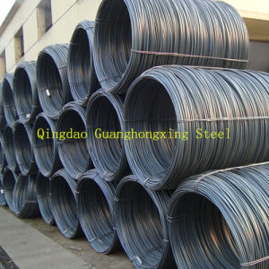 GB10#, 10f#, SAE1010, SAE1008, 1008b, Hot Rolled, Steel Wire Rod pictures & photos