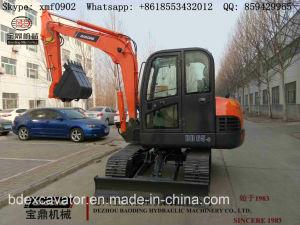 Baoding Yellow Mini Crawler Hydraulic Excavator Machine Bd65 pictures & photos