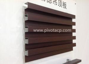 Wooden Faced Aluminum Decoration Ceiling