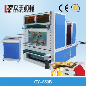 Automatic Paper Cup Fan Die Punching Machine Cy-850b pictures & photos