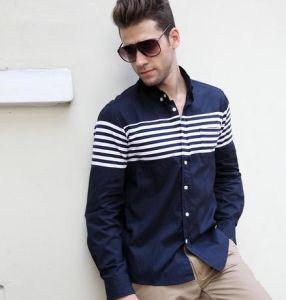Customized Men′s Fashion Shirt (20130401L015)