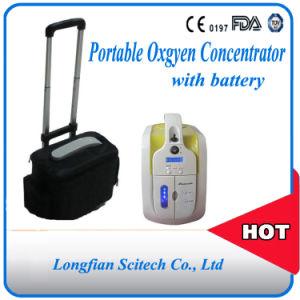 Mini Portable Oxygen Concentrator/Battery Operated Portable Oxygen Concentrator/Small Portalbe Oxygen Concentrator with Battery (JAY-1) pictures & photos