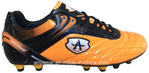 Men′s Soccer Football Boots with TPU Outsole Shoes (815-6509) pictures & photos