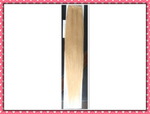 8A Remy Hair Straight Weave 18inches Color 613 (HH-18613) pictures & photos