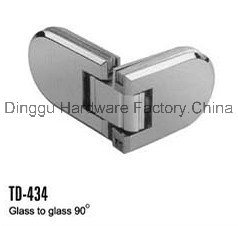 Stainless Steel Shower Hinge for Shower Roomtd-434 pictures & photos
