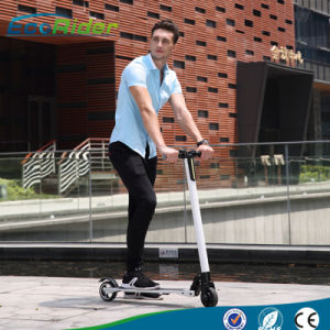 2016 Ecorider Lithium Battery Light Weight Foldable Electric Scooter pictures & photos