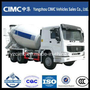 9cbm Heavy Duty Concrete Mixing Truck with HOWO Chassis pictures & photos