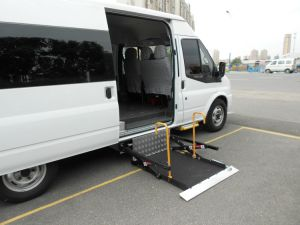 Wheelchair Lifting Platform for Van pictures & photos