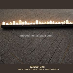 New Design Modern Black Strip Luxury Egyptian Pyramid LED Rocks Crystal Chandelier pictures & photos