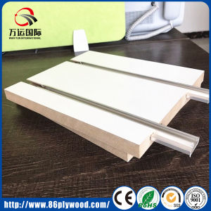Supermarket Display Rack Grooved Melamine MDF pictures & photos