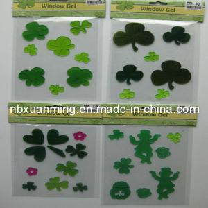 Spring TPR Window Gel Sticker