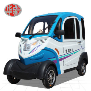 Huajiang New Pattern The Four Round Elderly Scooter Electric Car pictures & photos