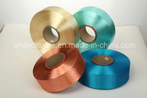 Dope-Dyed Polyester Filament Yarn with 150d/48f Semi Dull FDY for Weaving pictures & photos