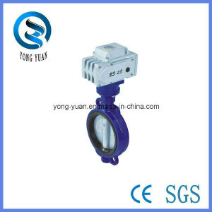 Electric Butterfly Motorized Valve for HVAC (BSF-D) pictures & photos