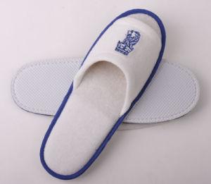 Blue and White Cotton Slipper