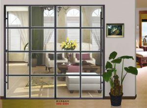 Morden Design PVC Shutter Series Wardrobe Sliding Door (yg-010) pictures & photos